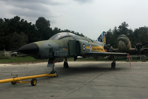 Transfer of Withdrawn RF-4E from the 114th CW to the HAF Museum