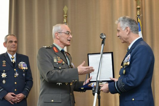 Ceremony for the Transfer of Duties of Chief of the Hellenic Air Force General Staff