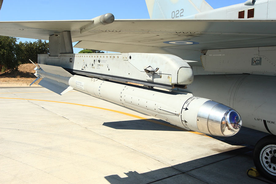 AIM-2000 (IRIS-T) Infrared Imaging Seeker - Tail